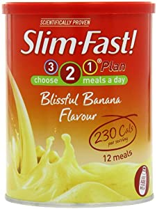 Slim Fast Powder Blissful Banana 438g