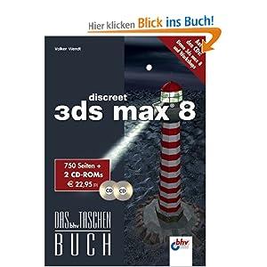 eBook Cover für  3ds max 8