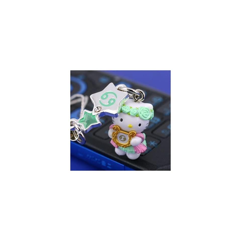 Sanrio Hello Kitty Astrologic Venus Star Charm Cell Phone Strap (Cancer)   Japanese Import Free Domestic Shipping for This Item