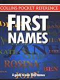 First Names (Collins Pocket Reference)(Harper Collins)