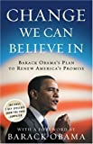 Image of Change We Can Believe In: Barack Obama's Plan to Renew America's Promise