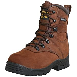 Golden Retriever Men's 8″ Waterproof Work Boot