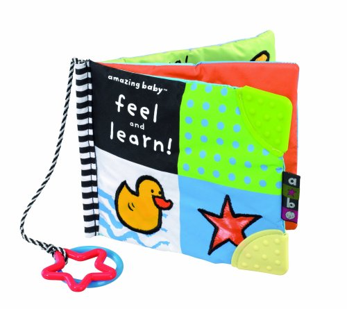 Kids Preferred Amazing Baby Feel And Learn - Soft Book front-922146