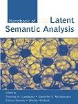 Handbook of Latent Semantic Analysis