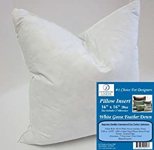Firm Throw Pillow Inserts : Amazon.com - 16