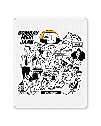 PosterGuy Bombay Meri Jaan Comic Art Quirky Illustration Mouse Pad