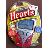 Big Screen HEARTS Game W LIGHTED SCREEN Handheld Game