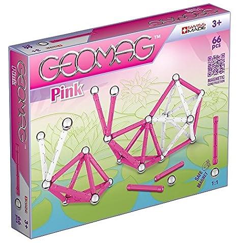 Geomag - 53 - Jeu de Construction -  66 Pièces  - Rose