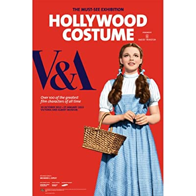 V&A Hollywood Costume Exhibition Poster||EVAEX||RF10F