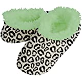 Snoozies Dots and Hearts Fleece Lined Womens Footies