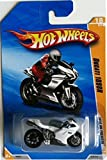 HOT WHEELS 2010 NEW MODELS 17 OF 44 WHITE DUCATI 1098R MOTORCYCLE