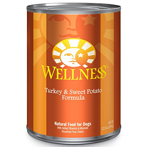 Wellness Complete Health Turkey & Sweet Potato Natural Wet Canned Dog Food, 12.5-Ounce Can (Pack of 12)