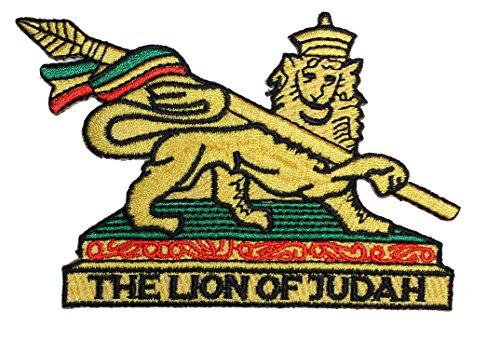 Application Reggae and Rasta Lion Of Judah Patch