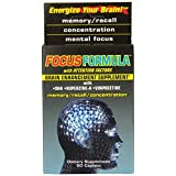 Windmill Health Products Focus Formula Brain Enhancement Supplement Caplets, 60-Count Boxes (Pack of 2) ~ Prevention