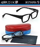 【キューブリック メガネ】人気セレクトショップEROTICAとのコラボモデル!Qbrick メガネフレーム BTY4701
