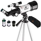 Gskyer 70400AZ Refractor Travel Telescope Kit with German Technology