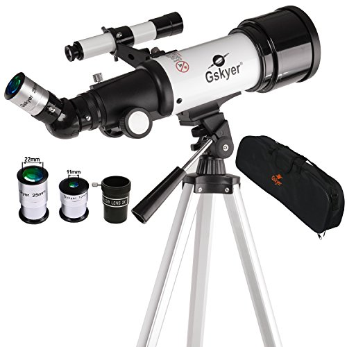 Gskyer-70400AZ-Refractor-Travel-Telescope-Kit-with-German-Technology