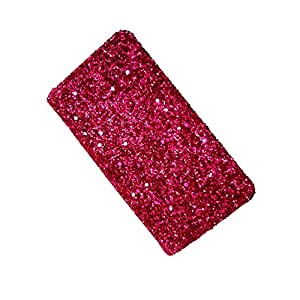 i-KitPit Sparkling PU Leather Wallet Flip Case For Samsung Galaxy Note 3 Neo (PINK)