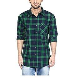 Yepme Men's Blue Cotton Shirts - YPMSHRT1131_36