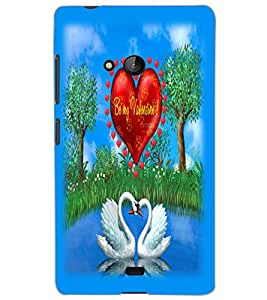 MICROSOFT LUMIA 540 DUAL BIRDS Back Cover by PRINTSWAG