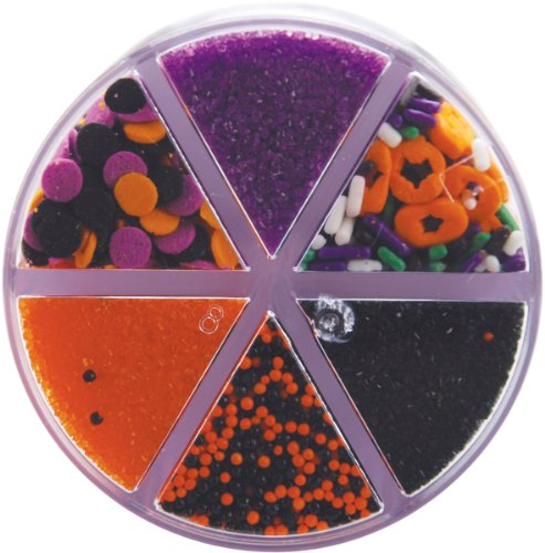Wilton(R) 6-Cell Sprinkles - Halloween Mix