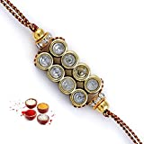 Aapno Rajasthan Antique Finish Rakhi (RJ14256)