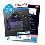 "atFoliX Displayschutzfolie f�r Canon EOS 600D (2 St�ck) - FX-Clear: Displayschutz Folie kristallklar! H�chste Qualit�t - Made in Germany!von ""@FoliX"""