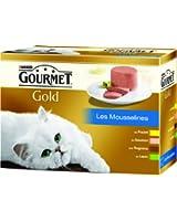 Gourmet Gold - Les Mousselines  - 12 x 85 g