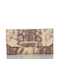 Soft Checkbook Wallet<br>Mauve Porter