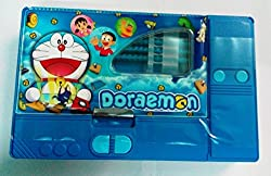 Kiku Gadget Pencil Box Best Quality--Jumbo Pencil Box---Kids Multi Purpose Pencil Box (Doraemon)