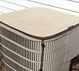PremierAcCovers - heavy duty waterproof air conditioner cover - PREMIER Winter Top - 36x36 - Almond
