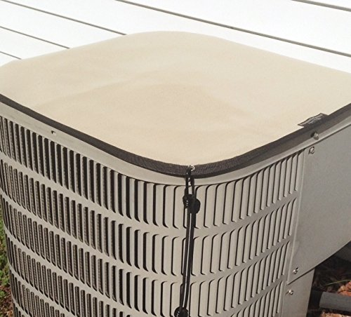 Learn More About Air Conditioner Cover - Winter Premier Top - 32x32 - Almond