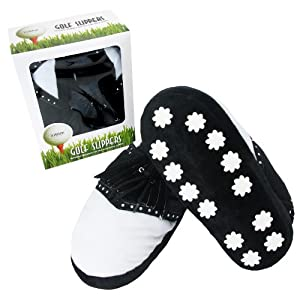 Links Choice Novelty Golf Slippers - Large (10-12)