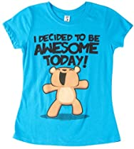 Hybrid 7-16 Awesome Today T-Shirt Turquoise Small