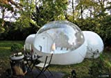 Inflatable bubble tent outdoor with 2...