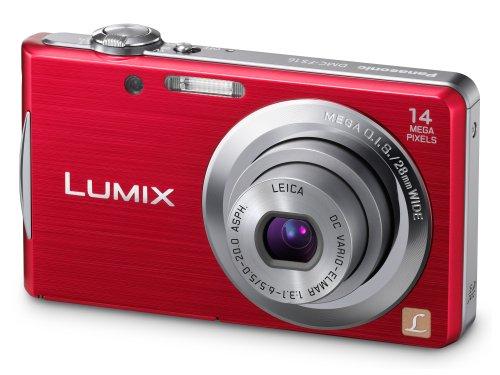 Panasonic Lumix FS16 Digital Camera - Red (14.1MP,