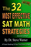 img - for The 32 Most Effective SAT Math Strategies, 2nd Edition book / textbook / text book