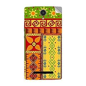 Garmor Designer Mobile Skin Sticker For OPPO R827T - Mobile Sticker
