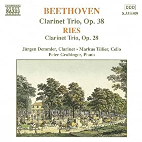 Beethoven / Ries: Clarinet Trios