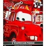 Disney Cars Floor Puzzle BLUE