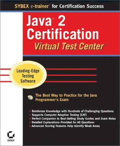 Java 2 Certification Virtual Test Center