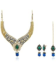 Shining Diva Gold Plated Kundan Jewellery Set For Women
