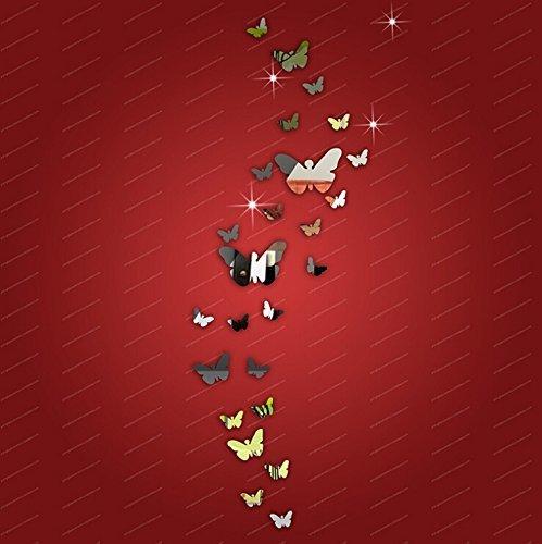 gearmaxr-25pcs-farfalla-combinazione-3d-specchio-wall-stickers-fai-da-te-home-decoration