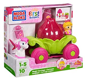 Mega Bloks First Builders Lil' Princess Magic Carriage