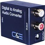 Digital Optical Coax to Analog R/L au...