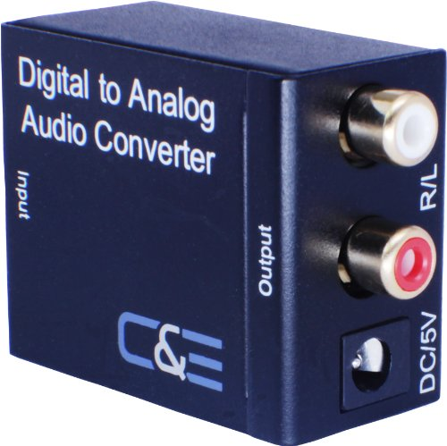 Digital Optical Coax to Analog R/L audio converter (Analog To Digital Conversion compare prices)