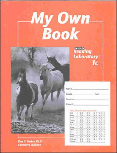 My Own Book: SRA Reading Laboratory 1c (5-Pack)