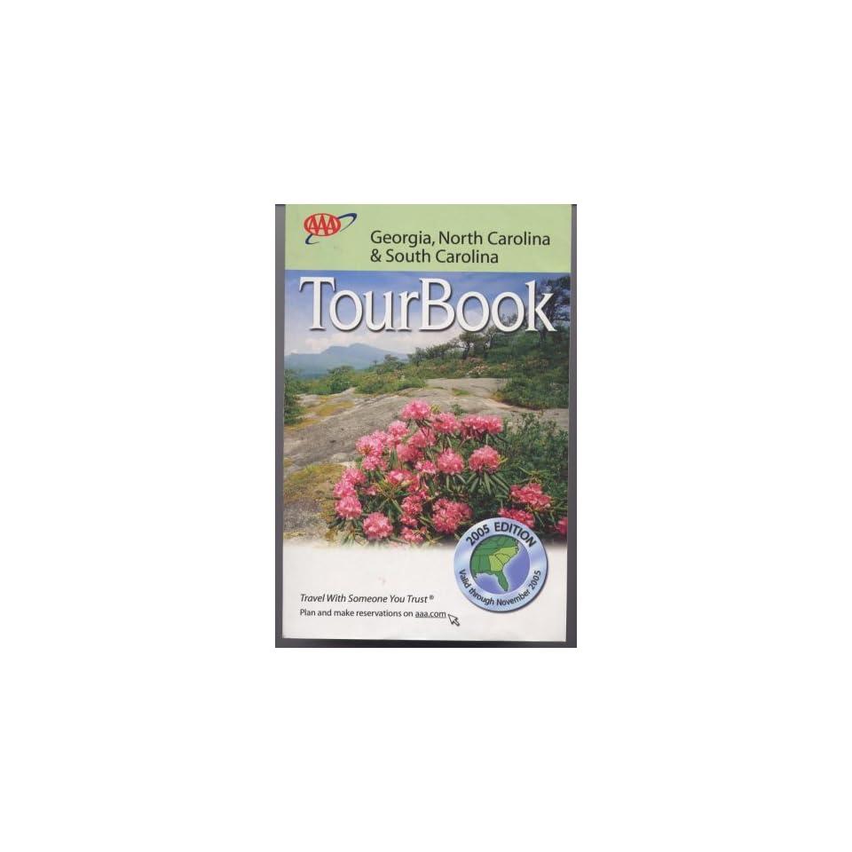 AAA Tour Book Georgia, North Carolina & South Carolina