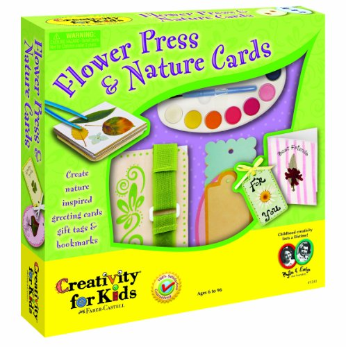 Creativity for Kids Flowers Press & Nature Cards (Flower Press And Nature Cards compare prices)