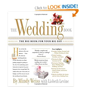 The Wedding Book: The Big Book for Your Big Day [Paperback]